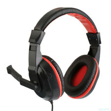 Portable 3.5mm AUX Gaming Headset Wired Headphones for PC Computer Laptop