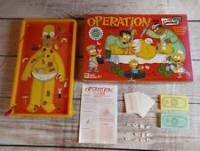 Operation Skill Game The Simpsons Edition COMPLETE GAME TESTED