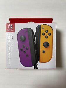 Nintendo Nintendo Switch Joy-Con Pair Neon Purple / Neon Orange - New