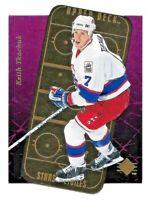 1995-96 Keith Tkachuk Upper Deck SP Stars Etoiles Gold Die Cut - Winnipeg Jets