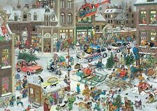 JAN Furgoneta Haasteren Navidad Puzle Rompecabezas (1000 piezas)