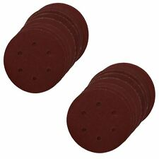 Hook/Loop Sanding Abrasive Discs Orbital DA Palm Sander 20PK 150mm Mixed Grit