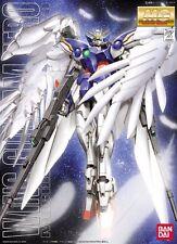 BANDAI MG 1/100 XXXG-00W0 WING GUNDAM ZERO CUSTOM EW Plastic Model Kit Gundam W