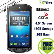 Kyocera DuraForce E6560 Rugged Smartphone (AT&T) Unlocked 4G 16GB New Open Box