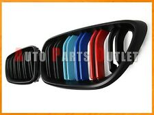 2014-2016 BMW F22 228i 235i Coupe M Style Matte Black M Three Color Front Grille