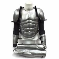 Greek Muscle Armor W Chest, Legs, Arms And Shoulders Guard Set Wearable Costume