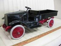 1923-29 BUDDY L Dump Truck Pressed Steel Toy Restored