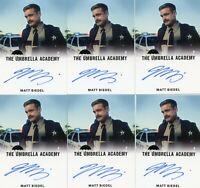 VL The Umbrella Academy season 1 Autograph card Matt Biedel as SGT Dale Chedder