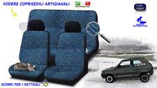 Coprisedili Fiat Panda 4X4 fodere copri sedile set foderine auto tessuto vintage