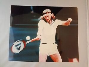 Bjorn Borg Tennis Player 8 x 10 Photo