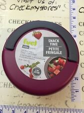 Nib Fuel snack time double wall Thermal Food Container - 8 Ounce Microwaveable