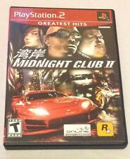 Midnight Club II (Sony PlayStation 2, 2003) Tested Complete Good Condition PS2