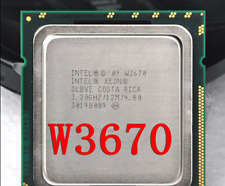 Intel Xeon Processor W3670 3.2-3.46 GHz 12M 6 Core 12 thread LGA 1366 X58=i7-970