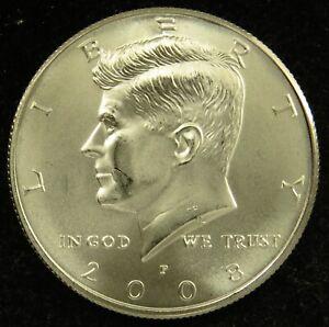 2008 P Satin Finish Uncirculated Kennedy Half Dollar BU (C01)