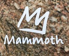 Mammoth Mountain Sticker - Ski Snowboard Skiing Sports Mountain Biking Burton