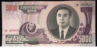 Billete de 5000 wons de Corea del N.