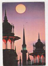 Kuala Lumpur Railway Station At Dusk Malaysia Postcard 629a