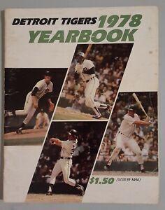 1978 Detroit Tigers Yearbook Trammell Whitaker Mark Fidrych Baseball