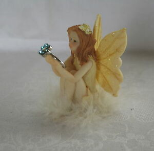 8cm FAIRY PRINCESS RING BEARER - with RING - ASSTD - PRETTY, MAGIC, FANTASY GIFT