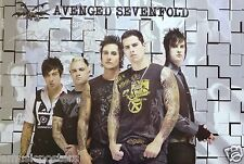 "AVENGED SEVENFOLD ""GROUP STANDING IN FRONT OF MOSAIC"" POSTER FROM THAILAND"