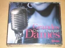 RARE COFFRET 5 CD/ GRANDES DAMES DE LA CHANSON FRANCAISE/ READER'S DIGEST / NEUF