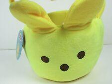 Flipeez Yellow Peeps Holiday Treat Basket Halloween Easter Party w Moving Ears