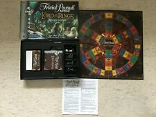 Lord Of The Rings Trivial Pursuit DVD Game Complete Trilogy Edition