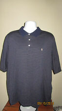 XL Polo Golf Ralph Lauren Tradition Short Sleeve Casual Golfing Shirt Navy Blue