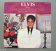 """Elvis Presley-The Wonder Of You/mamma piace The Roses RCA 7"""" > UK 70's <"""