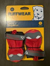 """Ruffwear Grip Trex Dog Boots - Pair of Two Boots - 2"""" Red"""