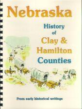 NE Hamilton & Clay County Nebraska 1882 history/genealogy Harvard Aurora Center