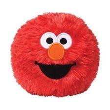 "Gund Sesame Street Elmo Stuffed Giggle Motion Activated Plush Ball 4"" 10CM NWT"