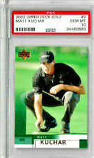 2002 Upper Deck Golf Matt Kuchar PSA 10