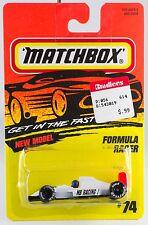 Matchbox MB 74 Formula Racer New On Card 1996