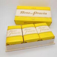 Vintage X3 Gal Heno de Pravia 90grs 3.17 oz soap, sealed, in box