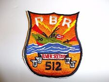b7244 US Navy Vietnam River Section 512 Patrol Boat PBR Brown Water IR27D
