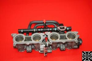 15 2015 HONDA CBR650F THROTTLE BODIES AND INJECTORS VIDEO ON DYNO