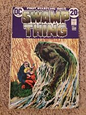 1972 Swamp Thing #1 Bernie Wrightson art! 1st appearance!