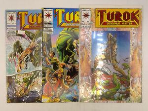 Turok #1-4,6-24,36 + Yearbook Vol. 2 #3 Valiant Comics 1993 VF Dinosaur Hunter
