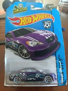 Hot Wheels Hyundai Genesis Coupe 11/250 Purple