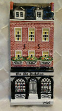 Hazle Ceramics A Nation Of Shopkeepers The Old Bookshop Wall Plaque England Rare