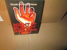 NIGHT OF THE BLOODY HORROR rare dvd GERALD MCRANEY Gaye Yellen Gore 1969 Mint