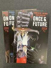 Once And Future #1, 2, 3: FIRST PRINT LOT (Boom, 2019)