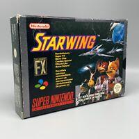 Jeu - Starwing - Nintendo - PAL FAH - SNES - Super Nintendo