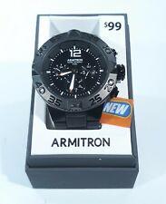 Armitron Mens Round Dress Wrist Watch 20/5198BKTI Black