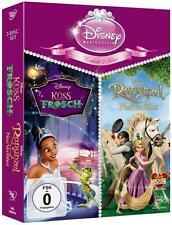 Prinzessinnen-Doppelpack: Küss den Frosch + Rapunzel  Neu DVD Disney