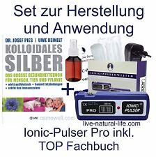 Ionic-Pulser® PRO Silber-Generator + Buch kolloidales Silber herstellen + Sprühf