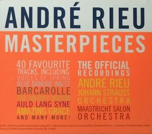 Andre Rieu Masterpieces 3-Disc Set Boxed Fat Pack CD Album VGC
