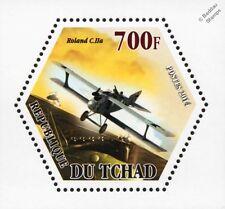 WWI German LFG ROLAND C.II / C.IIa Reconnaissance Aircraft Stamp