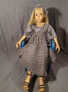 "Beautiful 39"" lifesize Elisabeth Lindner Gotz doll Anina orig outfit VG cond"
